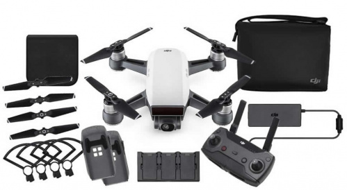 Квадрокоптер (белый) DJI Spark Fly More Combo (EU) Alpine White