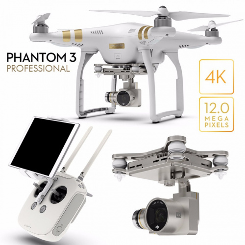 DJI Phantom 3 Professional (комиссия)