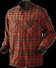 Рубашка Harkila Pajala Shirt Bright Red Check - купить (заказать), узнать цену - Охотничий супермаркет Стрелец г. Екатеринбург