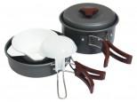 Набор посуды Tramp TRC-025  анодированный алюминий - купить (заказать), узнать цену - Охотничий супермаркет Стрелец г. Екатеринбург