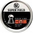 Пульки RWS Superfield 4,5 мм 0,54 г (500 шт./бан.) - купить (заказать), узнать цену - Охотничий супермаркет Стрелец г. Екатеринбург