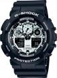 Часы CASIO G-SHOCK GA-100BW-1A - купить (заказать), узнать цену - Охотничий супермаркет Стрелец г. Екатеринбург