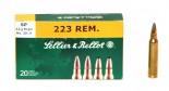 Патрон к.223 Rem 3,6гр SP Sellier&Bellot 1уп/20шт - купить (заказать), узнать цену - Охотничий супермаркет Стрелец г. Екатеринбург