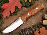 Нож Bark River  DPH Black Ash Burl - купить (заказать), узнать цену - Охотничий супермаркет Стрелец г. Екатеринбург