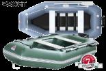 Лодка надувная YUKONA 280 GT серая без настила и транца - купить (заказать), узнать цену - Охотничий супермаркет Стрелец г. Екатеринбург