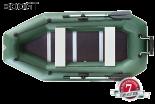 Лодка надувная YUKONA 300 GT зеленая без настила и транца - купить (заказать), узнать цену - Охотничий супермаркет Стрелец г. Екатеринбург