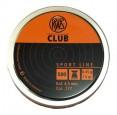 Пуля RWS Club 4,5мм 0.45гр 1уп/50шт - купить (заказать), узнать цену - Охотничий супермаркет Стрелец г. Екатеринбург