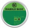 Пульки RWS Diabolo Basic 4,5 мм, 0,45г (500 шт./бан.) - купить (заказать), узнать цену - Охотничий супермаркет Стрелец г. Екатеринбург
