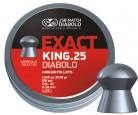 Пульки JSB Exact King к.6,35 мм 1,645 гр 350 шт - купить (заказать), узнать цену - Охотничий супермаркет Стрелец г. Екатеринбург