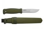 Нож Morakniv Kansbol, нержавеющая сталь, прорез. ручка, цвет зеленый - купить (заказать), узнать цену - Охотничий супермаркет Стрелец г. Екатеринбург