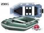 Лодка надувная YUKONA 230 G б/настила зеленая-U - купить (заказать), узнать цену - Охотничий супермаркет Стрелец г. Екатеринбург