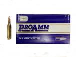 Патрон к.243Win 6,48гр SP ProAmm РМР 1шт - купить (заказать), узнать цену - Охотничий супермаркет Стрелец г. Екатеринбург