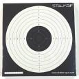 Мишень для пневматики логотип STALKER №17 170*170 мм картон (50шт/уп) - купить (заказать), узнать цену - Охотничий супермаркет Стрелец г. Екатеринбург