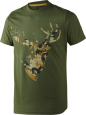 Футболка Seeland T-shirt Camo Stag - купить (заказать), узнать цену - Охотничий супермаркет Стрелец г. Екатеринбург