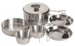 Набор посуды Tramp TRC-001 нержавеющая сталь - купить (заказать), узнать цену - Охотничий супермаркет Стрелец г. Екатеринбург
