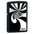 Зажигалка Zippo Spiral Black and White 28297 - купить (заказать), узнать цену - Охотничий супермаркет Стрелец г. Екатеринбург