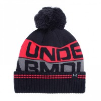 Шапка Under Armour Men's Retro Pom Beanie 2.0 (OSFA) 1300078-001
