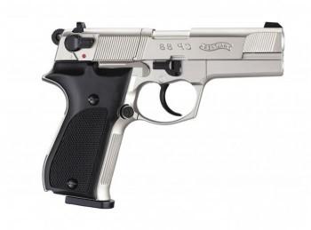 Пистолет пневм. Walther СР 88 (никель с чёрн. пласт. накладками) - купить (заказать), узнать цену - Охотничий супермаркет Стрелец г. Екатеринбург