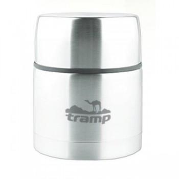 Термос Tramp TRC-077 (серый) с широким горлом 0,5 литра - купить (заказать), узнать цену - Охотничий супермаркет Стрелец г. Екатеринбург