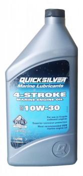 Масло Quicksilver 4-stroke  10W-30 1л - купить (заказать), узнать цену - Охотничий супермаркет Стрелец г. Екатеринбург