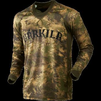 Футболка Harkila Lynx L/S AXIS MSP Forest green - купить (заказать), узнать цену - Охотничий супермаркет Стрелец г. Екатеринбург