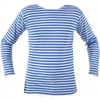 Тельняшка кулирка (с голубой полосой) - купить (заказать), узнать цену - Охотничий супермаркет Стрелец г. Екатеринбург