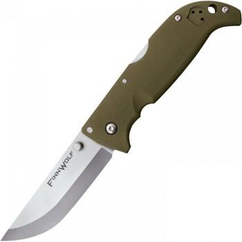 Нож Cold Steel Finn Wolf Green - складной сталь AUS 8A, рукоять пластик (CS_20NPFZ) - купить (заказать), узнать цену - Охотничий супермаркет Стрелец г. Екатеринбург