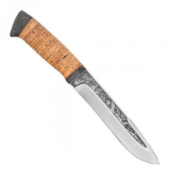 Нож разделочный Шаман-1 береста, 95х18 - купить (заказать), узнать цену - Охотничий супермаркет Стрелец г. Екатеринбург
