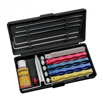 Точильная система Lansky Professional Knife Sharpening System 5 камней - купить (заказать), узнать цену - Охотничий супермаркет Стрелец г. Екатеринбург