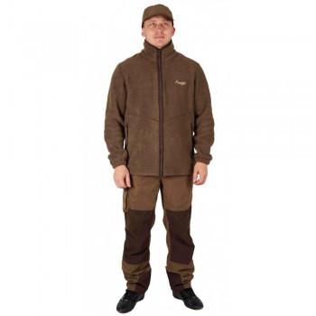 Куртка флисовая Canadian Camper Forkan, цвет коричневый - купить (заказать), узнать цену - Охотничий супермаркет Стрелец г. Екатеринбург