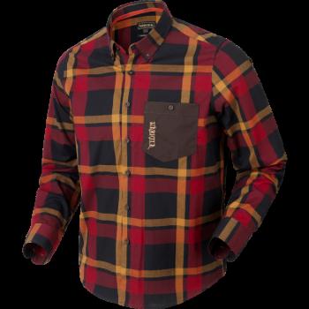 Рубашка Harkila Amlet L/S  Red/Black check - купить (заказать), узнать цену - Охотничий супермаркет Стрелец г. Екатеринбург