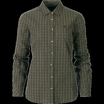 Рубашка Seeland Claire Lady  Olive night check - купить (заказать), узнать цену - Охотничий супермаркет Стрелец г. Екатеринбург