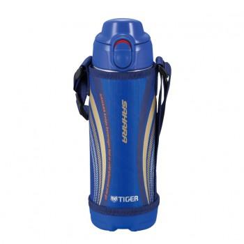 Термос спортивный Tiger MBO-E050 Blue, 0.5 л (нержавеющая сталь, цвет крышки синий) - купить (заказать), узнать цену - Охотничий супермаркет Стрелец г. Екатеринбург