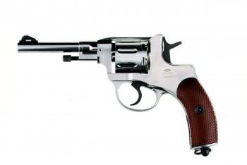 Револьвер пневматический Gletcher NGT F Silver - купить (заказать), узнать цену - Охотничий супермаркет Стрелец г. Екатеринбург