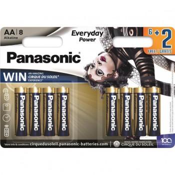 Э/п Panasonic Pro Power LR6/316 8BL 6+2F Cirque du Soleil - купить (заказать), узнать цену - Охотничий супермаркет Стрелец г. Екатеринбург
