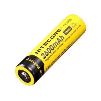 Аккумулятор с защитой NITECORE NL186 18650 2600 Li-ion 3.7v 2600mA - купить (заказать), узнать цену - Охотничий супермаркет Стрелец г. Екатеринбург