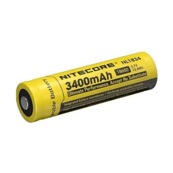 Аккумулятор с защитой NITECORE NL1834 18650 Li-ion 3.7v 3400mA - купить (заказать), узнать цену - Охотничий супермаркет Стрелец г. Екатеринбург