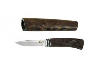 Нож Амулет, ст Х12МФ, венге в деревянных ножнах - купить (заказать), узнать цену - Охотничий супермаркет Стрелец г. Екатеринбург