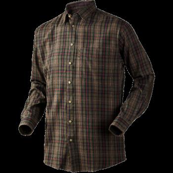 Рубашка Seeland Pilton Faun brown check - купить (заказать), узнать цену - Охотничий супермаркет Стрелец г. Екатеринбург