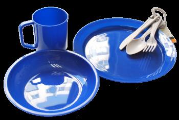 Набор посуды Tramp пластиковой TRC-047 (пластик) - купить (заказать), узнать цену - Охотничий супермаркет Стрелец г. Екатеринбург