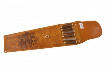 Набор шашлычный НШ-6ХР(дубок орех) - купить (заказать), узнать цену - Охотничий супермаркет Стрелец г. Екатеринбург