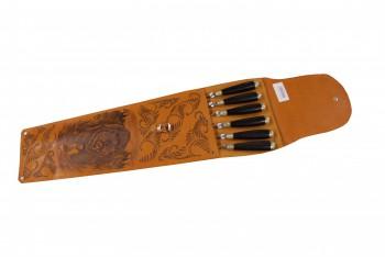 Набор шашлычный НШ-6ХР(дубок граб) - купить (заказать), узнать цену - Охотничий супермаркет Стрелец г. Екатеринбург