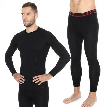 Комплект термо мужской черный Brubeck Active Wool - купить (заказать), узнать цену - Охотничий супермаркет Стрелец г. Екатеринбург