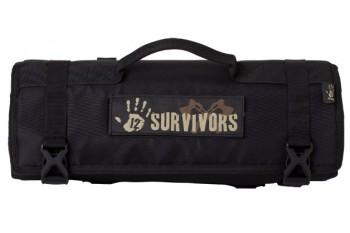 Набор режущих инструментов Sightmark 12 Survivors Knife Rollup Kit TS42001B - купить (заказать), узнать цену - Охотничий супермаркет Стрелец г. Екатеринбург