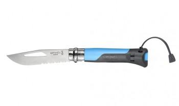 Нож Opinel №8 Outdoor, нержавеющая сталь, синий - купить (заказать), узнать цену - Охотничий супермаркет Стрелец г. Екатеринбург