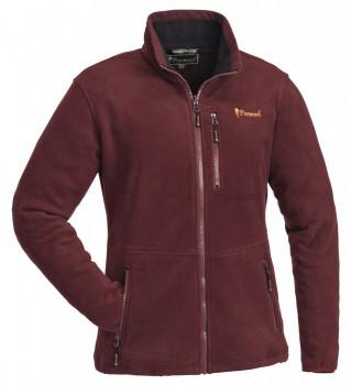 Флисовая женская куртка Pinewood Finnveden (цвет Burgundy) - купить (заказать), узнать цену - Охотничий супермаркет Стрелец г. Екатеринбург