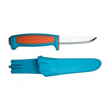 Нож Morakniv Basic 511 углеродистая сталь, пластиковая ручка (синий) - купить (заказать), узнать цену - Охотничий супермаркет Стрелец г. Екатеринбург