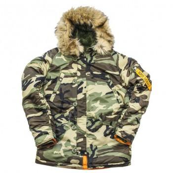 Куртка Аляска Husky Denali (Camo/Orange) - купить (заказать), узнать цену - Охотничий супермаркет Стрелец г. Екатеринбург