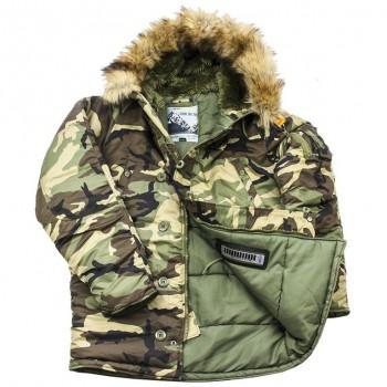 Куртка Аляска Husky Denali (Camo/Olive) - купить (заказать), узнать цену - Охотничий супермаркет Стрелец г. Екатеринбург