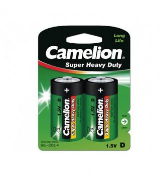 Э/п Camelion HEAVY DUTY Green R20/373 BL2 - купить (заказать), узнать цену - Охотничий супермаркет Стрелец г. Екатеринбург